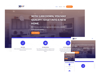 Real estate-website design